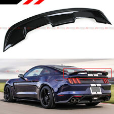 For 2015 2020 Ford Mustang Gt350 Gt500 Style Abs Glossy Black Trunk Spoiler Wing Fits Mustang