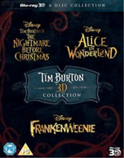 Tim Burton 3d Movie Collection Blu-ray Region