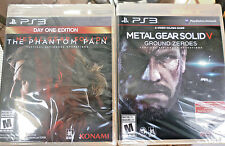 Metal Gear Solid V Phantom Pain Day One ED & Ground Zero -2 PS3 Games