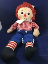 Vintage Raggedy Andy Knickerbocker Doll Hong Kong