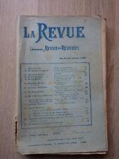 LA REVUE (Ancienne Revue des Revues) Nr 10 Mai 1904 JEAN FINOT