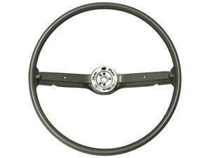"New 1968-69 Fairlane Steering Wheel 16"" Ivy Gold 2-Spoke Mustang Comet Ford"