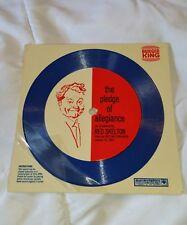 "Red Skelton -The Pledge Of Allegiance 1969 Burger King 7"" Record FLEXI DISC"