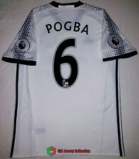 Manchester United 2016-2017 Away 3Rd Soccer Football Jersey #6 Pogba S'z M