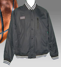 NEW NIKE Mens Athletic Department  AD Varsity Jacket Black M