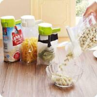 Storage Bag Clip Keep Your Food Fresh Plastic Helper Tool Saver Seal pour S Z1K2