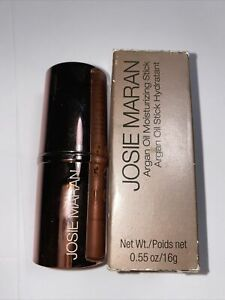 NEW IN BOX UNUSED JOSIE MARAN Argan Oil Moisturizing Stick CLEAR .55oz large