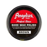 Angelus Shoe Wax Polish 3fl Oz BROWN NEW