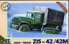 1/72 WWII ZIS-42/42M Soviet Half-truck PST 72032 Models kits