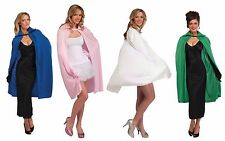 "UNISEX Adult Cape 45"" Long Costume Theatrical Cloak Adult Mens Womens Superhero"