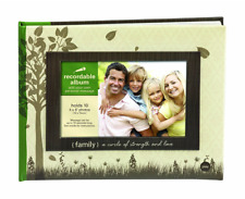Recordable Family Photo Album Holds 10 Pictures & 10 Second Message