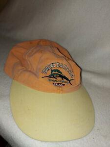 Men Tommy Bahama Orange Bungalow Brand RELAX Sailfish Baseball Hat Cap Size O/S