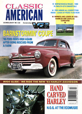 CLASSIC AMERICAN CARS Magazine. #22 Jan 1993 - '46 Ford Coupe