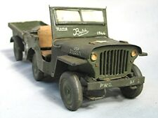 Vintage 1944 Hand Made Wwii Jeep - Made in Italy