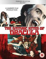 THE SATANIC RITES OF DRACULA ( 1973 ) HMV PREMIUM COLLECTION BLURAY NEW & SEALED