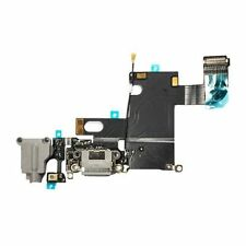 """US Charger Charging Dock Port Audio Jack Flex Cable for Apple iPhone 6 4.7"""" Gray"""