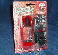 Testors Easy Builder Metal Body Model Kit Black Mustang GT 1 43 Scale