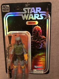 SDCC 2019 Exclusive Star Wars The Black Series Boba Fett Figure W/FigureShield