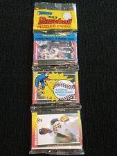 1989 DONRUSS RACK PACK Warren Spahn Puzzle LEAF Baseball Dunne Perez Berenguer