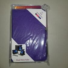 New rooCASE PU Leather Dual-View Folio Asus MeMOPad HD 7 w/Stylus Color: Purple