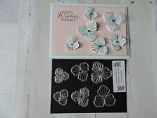 Craft Metal Die compatible with both Cuttlebug or Sizzix - Cut Out Flowers