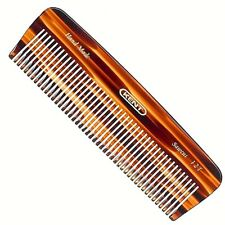 UNISEX 140MM THICK HAIR POCKET COMB KENT BRUSHES HANDMADE HAND FINISH HANDCRAFT
