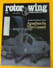 ROTOR & WING  MAGAZINE APRIL/1991...SOUTH CAROLINA'S 151st: APACHES IN THE GUARD