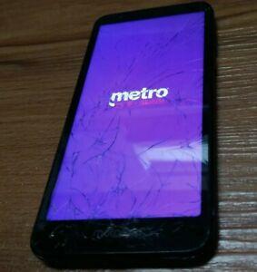 Motorola Moto E6 XT2005-3 - 16GB - Blue (MetroPCS-For Parts) (7568B) Used