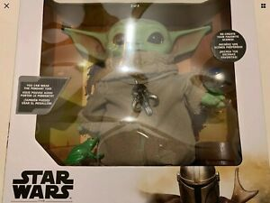 The Child Baby Yoda Plush Star Wars Mandalorian Frog Pendant Costco Exclusive