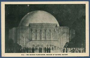 Hayden Planetarium, Museum of Natural History New York, gelaufen 1936 (AK3837)