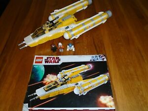 Lego Star Wars 8037 - Anakin's Y-Wing Starfighter - 100% Complete, Instructions