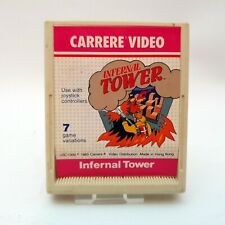 Infernal Tower Atari 2600 Carrere Video Game Cart Only PAL 1983