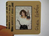Original Press Promo Slide Negative - Gloria Estefan - 1989 - C