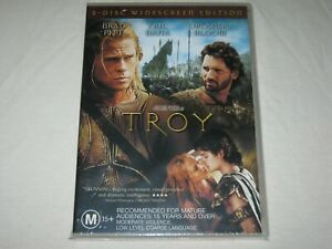 TROY - 2 Disc Widescreen Edition - Brand New & Sealed - Region 4 - DVD