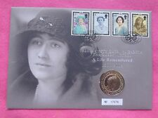 2002 QUEEN MOTHER FIVE POUND £5 BU COIN   FDC / PNC