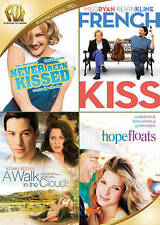 Never Been Kissed/French Kiss/A Walk in the Clouds/Hope (DVD, 2015, 4-Disc) New