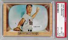 1955 Bowman # 55 Cal Abrams Baltimore Orioles PSA 6 EX/MT+  Additional ship free