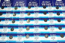 1 pile bouton cr1225 ithium batterie 3v ,4 piles achetés = 5 piles livrés