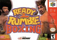 Ready 2 Rumble Boxing Nintendo 64 N64 Video Game Cart Fighting Super Fun Retro