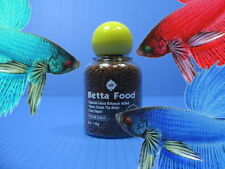 Aquarium Betta Fish Food 10g - Intense Coloring Renewed Health Fish Tank