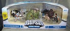 STAR WARS GALACTIC HEROES 2008 ESCAPE FROM MOS EISLEY SET