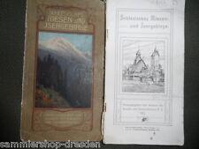 8056 Schlesisches Riesen-und Isergebirge 1912 Verband der Kurorte Sommerfrischen