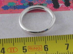 10 anellini saldati in metallo silver plated  da10 mm