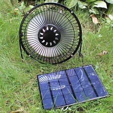 3.5W Solar Fan Greenhouse Chickhouse RV Camping Touring Car Ventilator