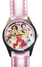 Disney Princesses Pink Leather Band Wrist Watch