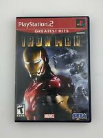 Iron Man (Greatest Hits) - Playstation 2 PS2 Game - Complete & Tested