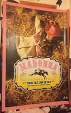 Madonna 2000 Music USA Limited Edition Promo Poster #2