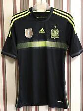 Spain World Cup 2014 Away Soccer Shirt Jersey Men's Adidas Sz S