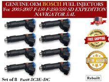 Remanufactured 8/unit Fuel Injectors OEM BOSCH 2006-2007 LINCOLN MARK LT 5.4L V8