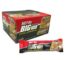 "MET-Rx Big 100 Colossal ""CRISPY APPLE PIE""  Meal Replacement Protein Blend 9 Bar"